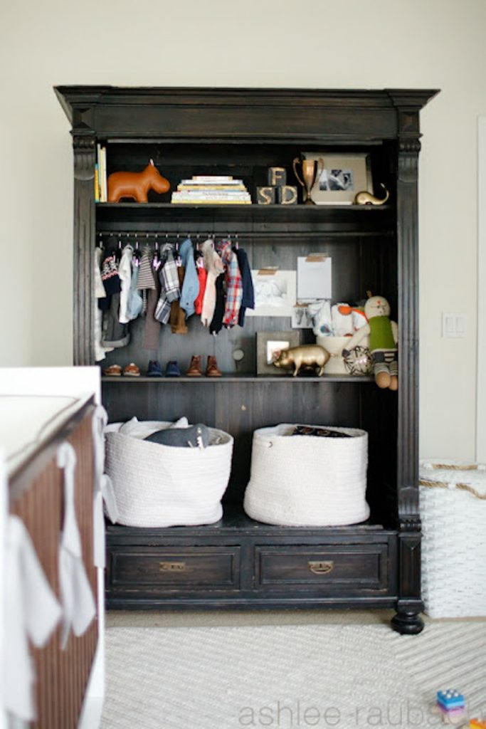 styled armoire becki owens blog