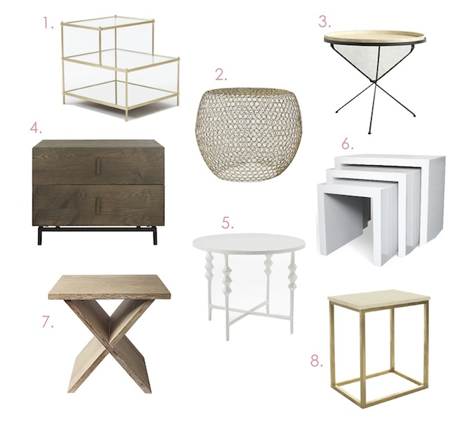 Picking the Perfect Side Table