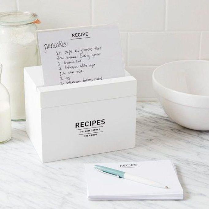 west elm recipe box becki owens blog