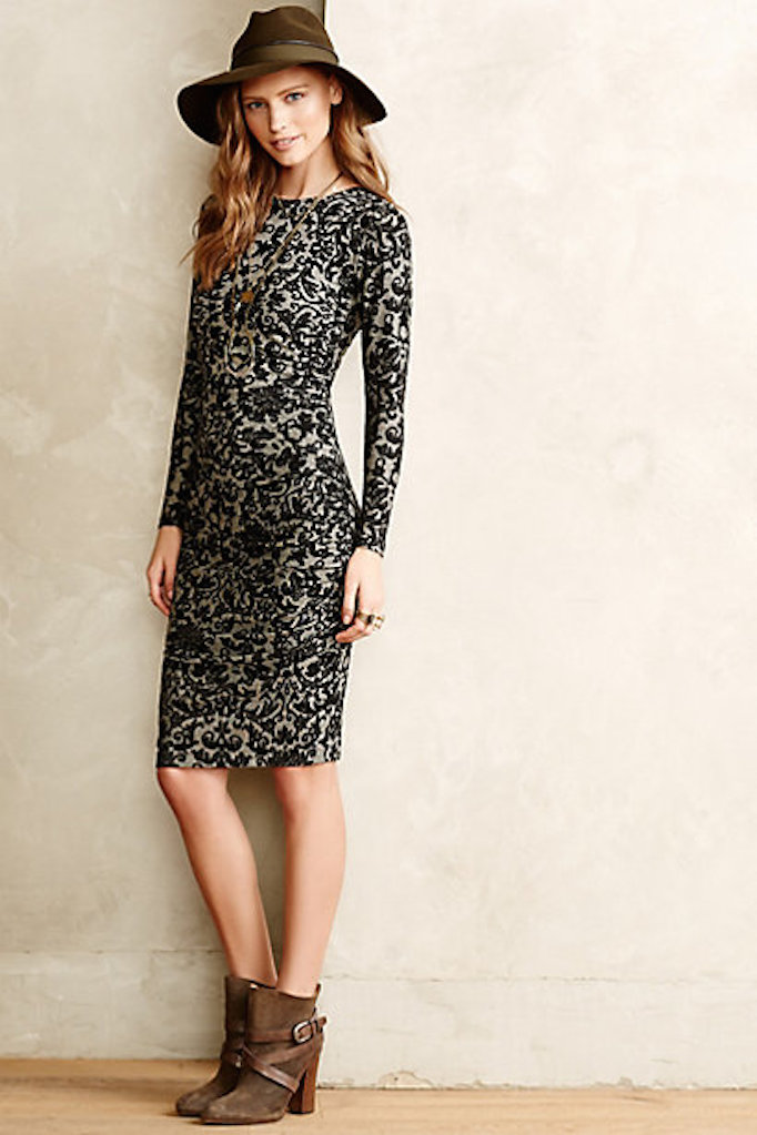 anthropologie lace dress becki owens blog