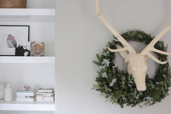 DIY Holiday Wreath Owens and Davis