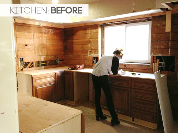 Before and After: Modern Spanish Kitchen