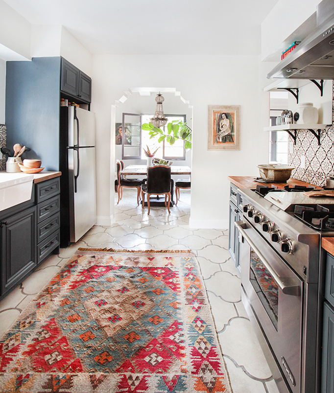 before and after modern spanish kitchen - Spanish Style Kitchen