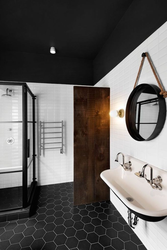 Amazing Black And White Bathrooms Becki Owens
