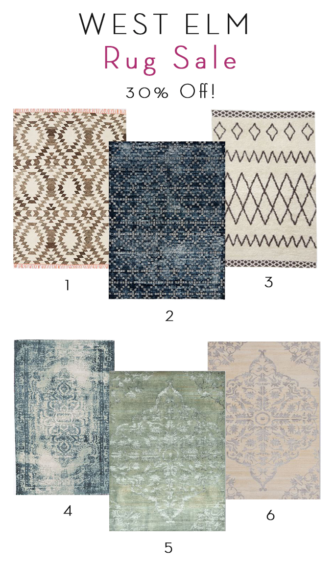 West Elm Rug Sale