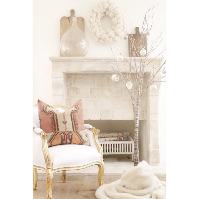 Shabby Chic Style Christmas