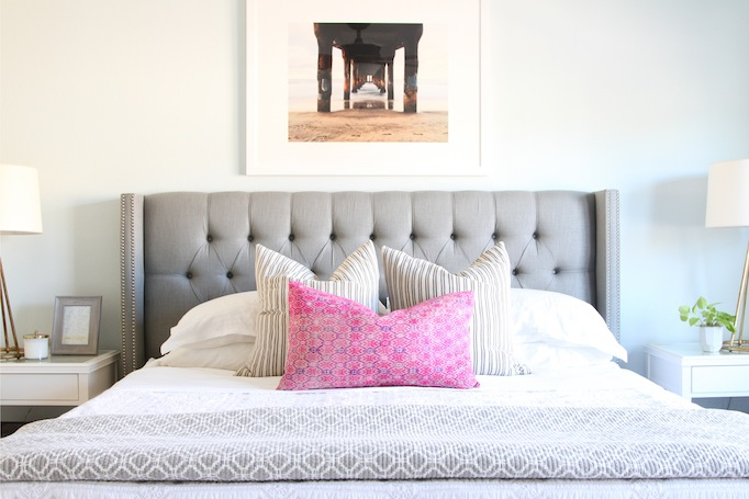 Get The Look: Pretty Coastal Bedroom