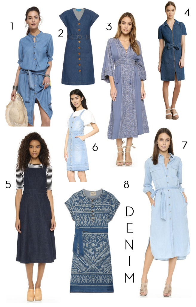 Spring Denim Dress Becki Owens