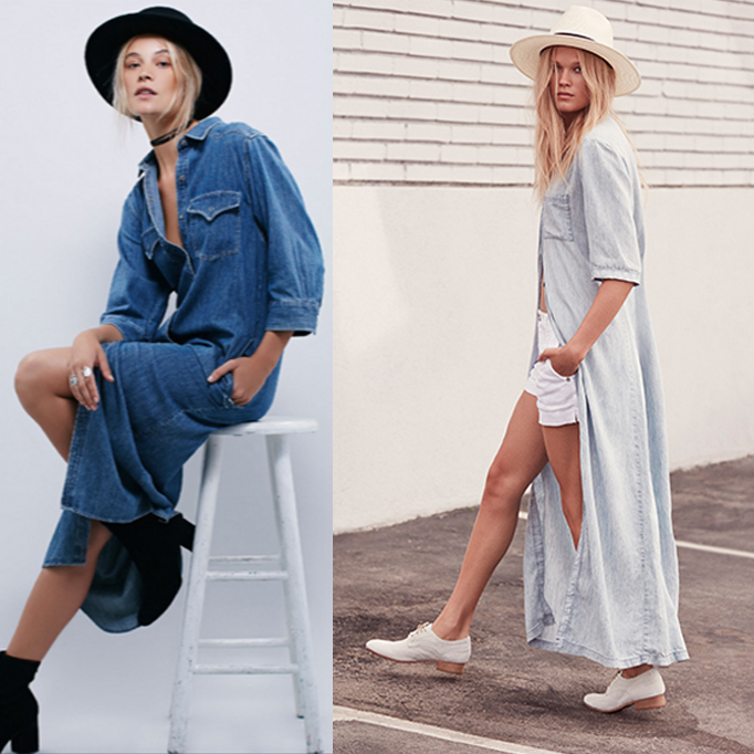 Spring Trend: The Denim Dress