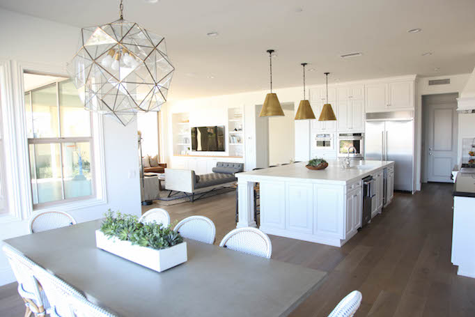 modern coastal kitchen