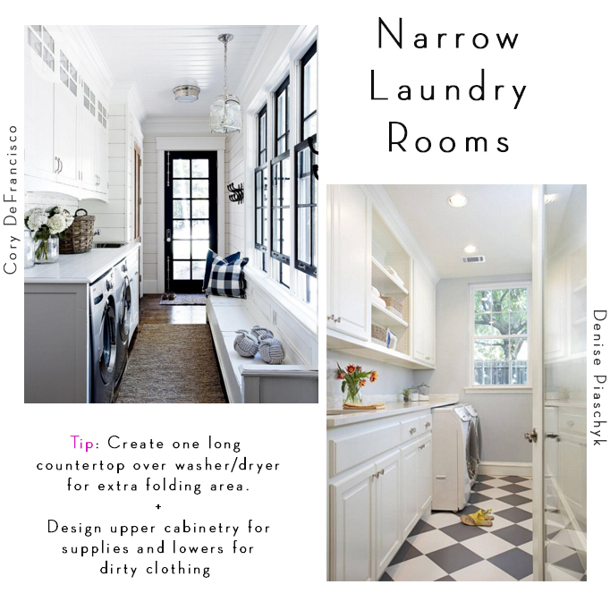 6 tips for designing a laundry room becki owens for House plans with large laundry room