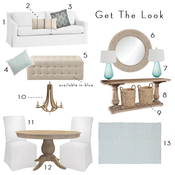 Coastal Home Get the Look