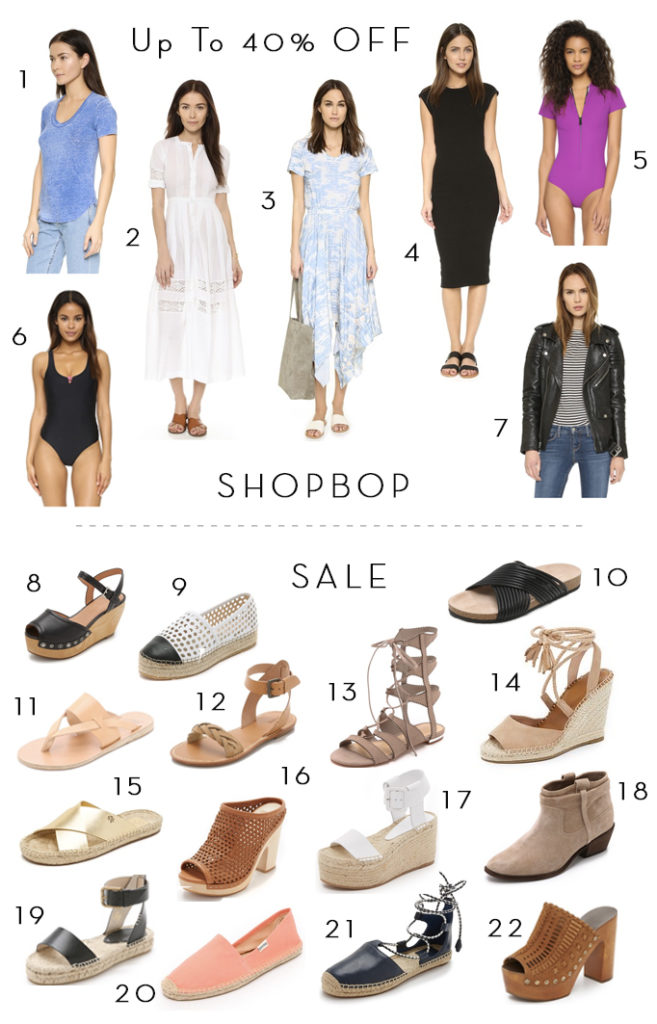 Surprise Shopbop Sale – Up to 40% off!