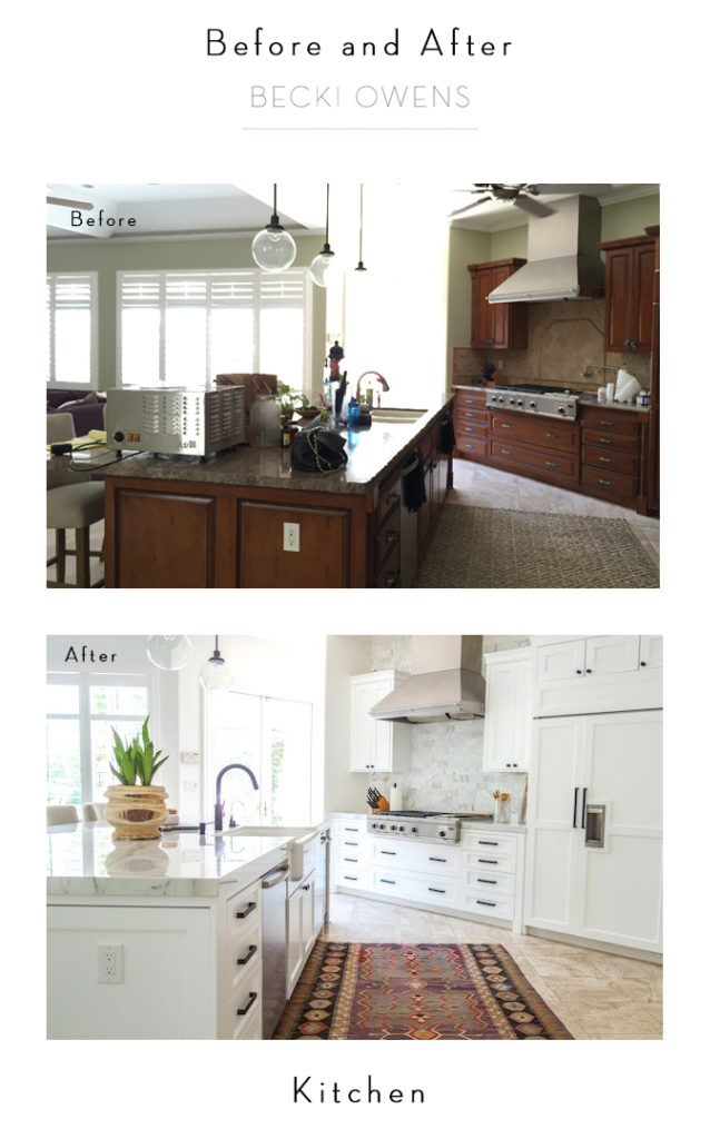 Full Service Design And E Before After Becki Owens Kitchen
