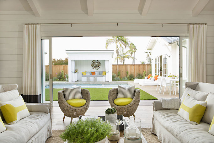 Newport Beach Modern Rustic Home