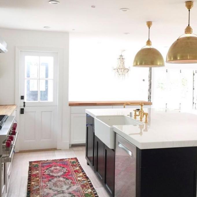 becki owens kitchen design kilim rug