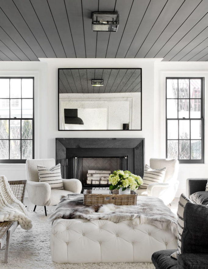 Painting Trend – Black Ceilings
