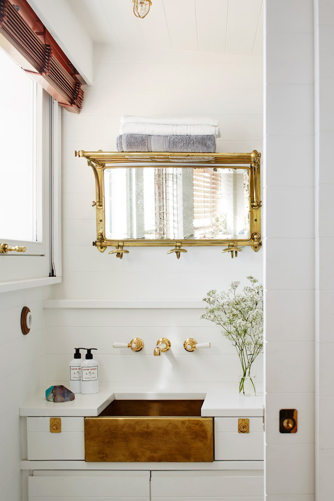 brass-apron-sink-in-bathroom