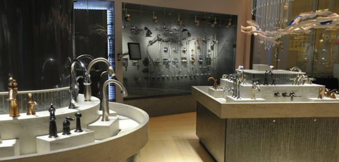 there were several faucets that immediately caught my eye i loved the seamless lines of the faucet styles from to industrial - Delta Faucets