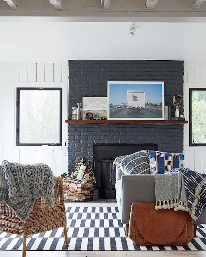 10 Fixes For And Outdated Fireplace Becki Owens