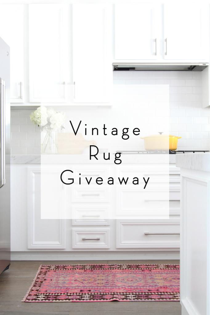Vintage Rugs Giveaway!