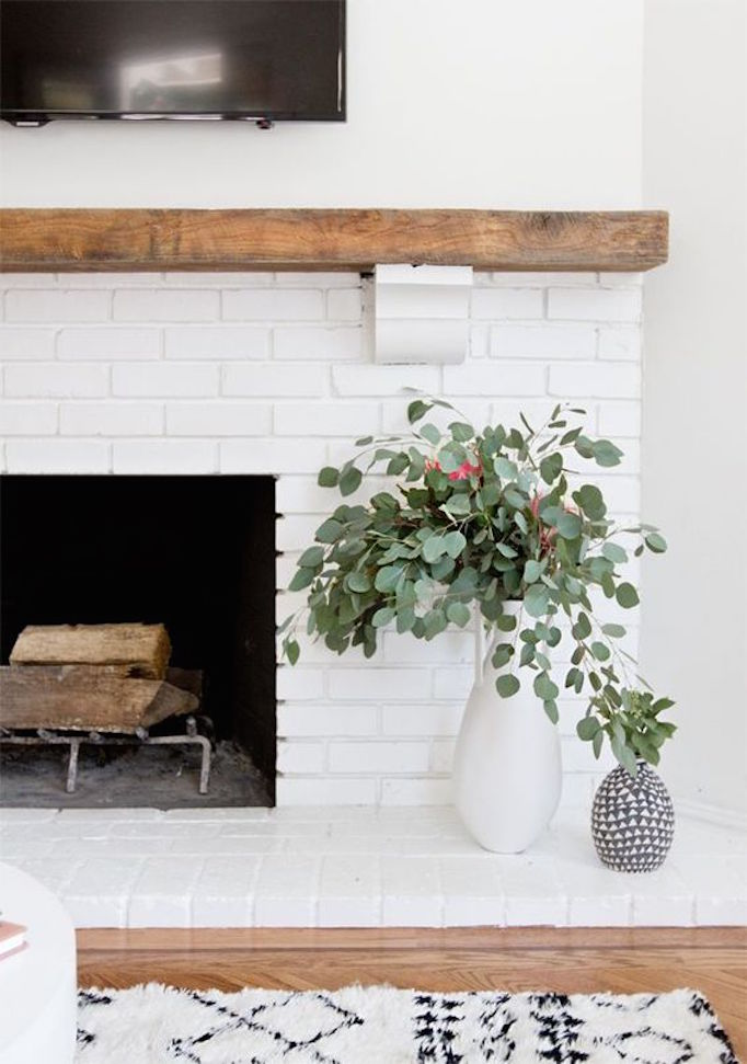 10 Fixes for an Outdated Fireplace