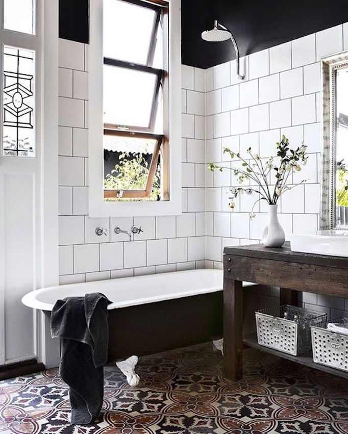 Best bathroom inspirations of 2016becki owens for Best bathroom flooring 2016