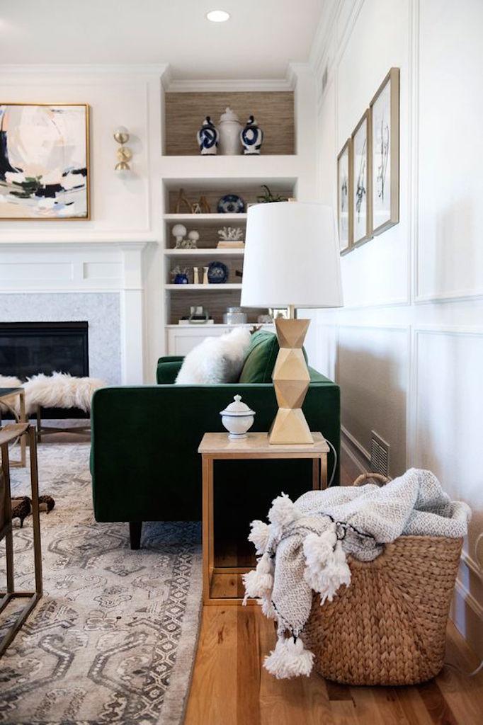 livingroomgreenvelvet