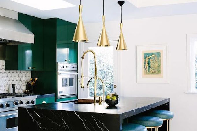 new colors of 2017 green in the kitchenbecki owens