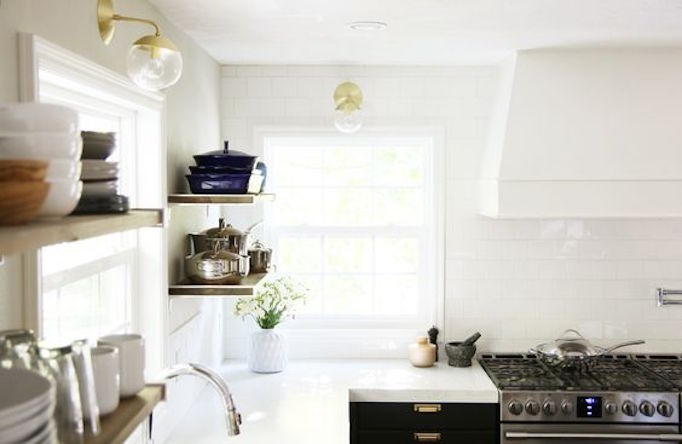 BECKI OWENS Marble Alternative White Concrete Counters