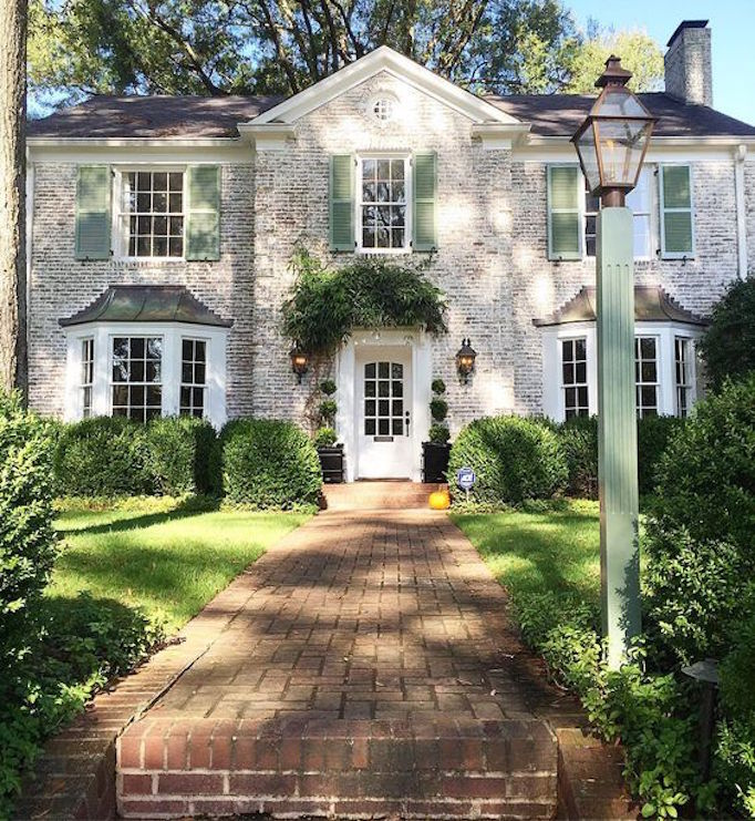 BECKI OWENS Exterior with Spring Greens